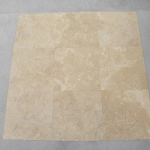 Travertin Classic Cross Cut (Polisat) 40,6x40,6x1,2 cm