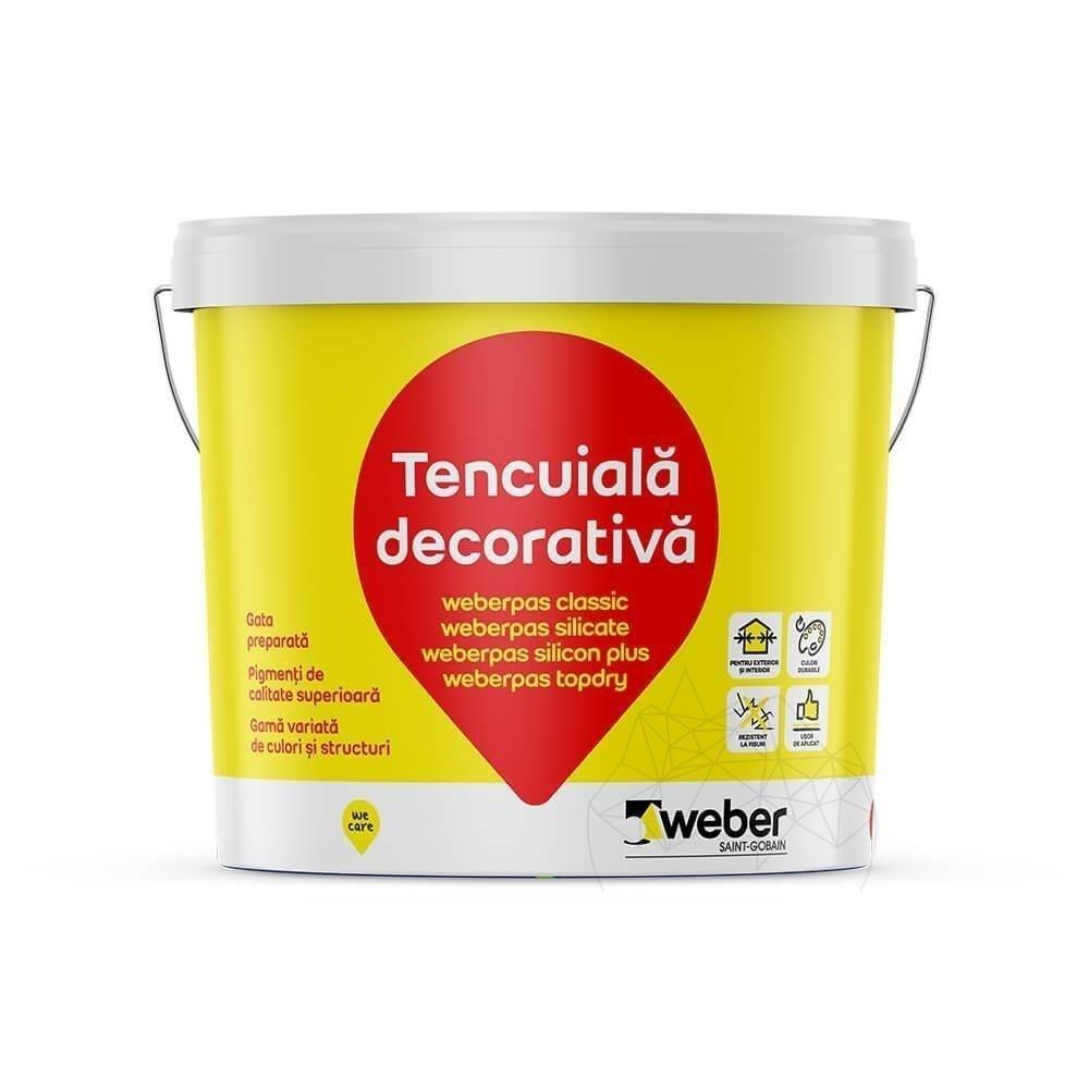 Tencuiala Decorativa Weber.Tencuiala Decorativa Acrilica Weber Pas Classic Piatraonline