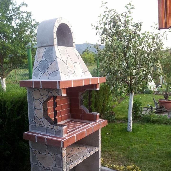 Gratar gradina 39 mic 39 placat cu piatra naturala for Gratare de gradina