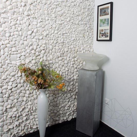Tencuiala Decorativa Exterior La Sac Pret.Pebble Marmura Alba Thassos Sac 20 Kg La Cel Mai Bun Pret Piatraonline