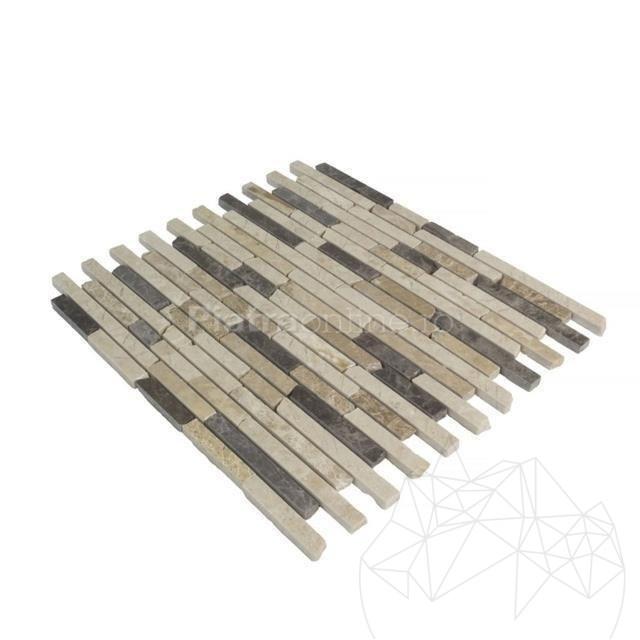 Mozaic Marmura Mix Marble Polisata 1.5 Cm X Lungime Libera Rsm 11 - Lichidare Stoc