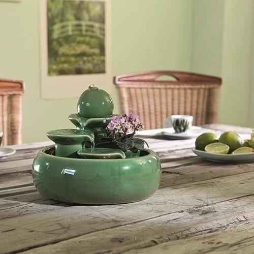 Fantana Zen De Interior Locarno - Green