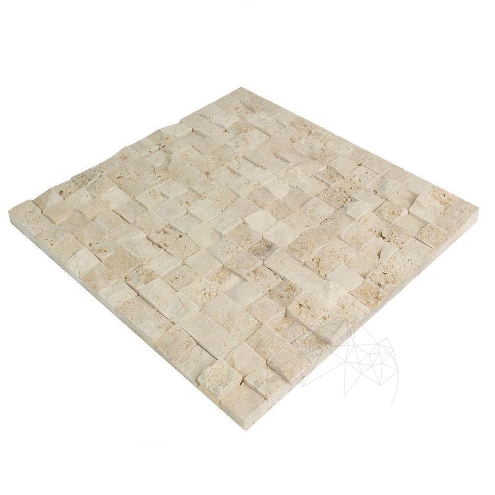 Mozaic Travertin Classic Scapitat 2.3 X 2.3 Cm - L