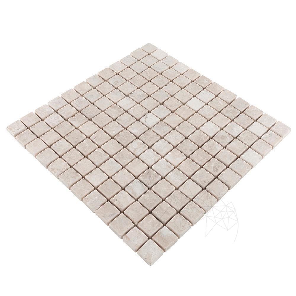 Mozaic Marmura Cappuccino Antichizata 2.3x2.3cm
