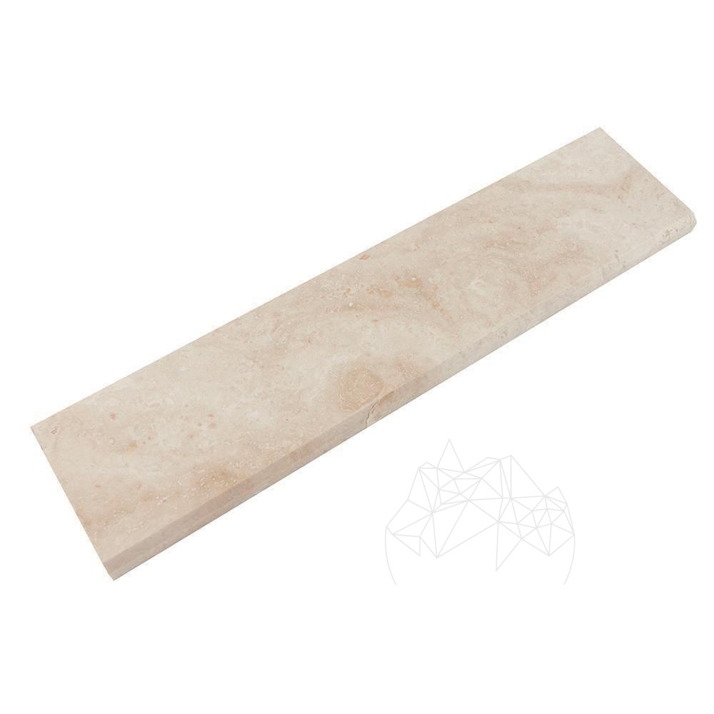 Plinta Travertin Classic  Cross Cut  Mat  7 X 30.5 X 1.2 Cm (bizot 1l)