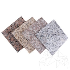 MOSTRA - Piese Speciale Granit Rock Star Grey Fiamat 2cm