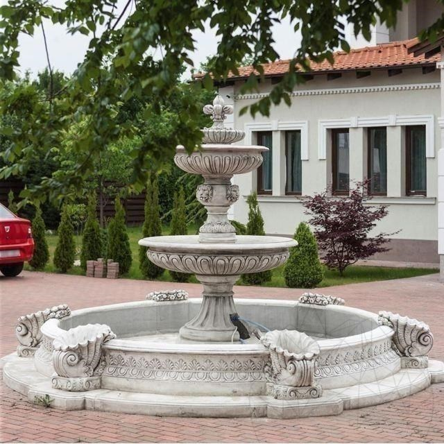 Fantani Arteziene Fontana Impero + Bazin F 65 Cb - Finisaj Alb
