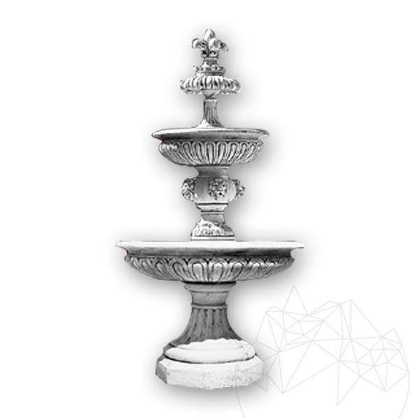 Fantani Arteziene Fontana Impero F65-FB (H 250cm, D: 160cm, 870kg) - Finisaj Alb