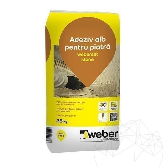 Adeziv Piatra Naturala - Weber Set.stone 25kg