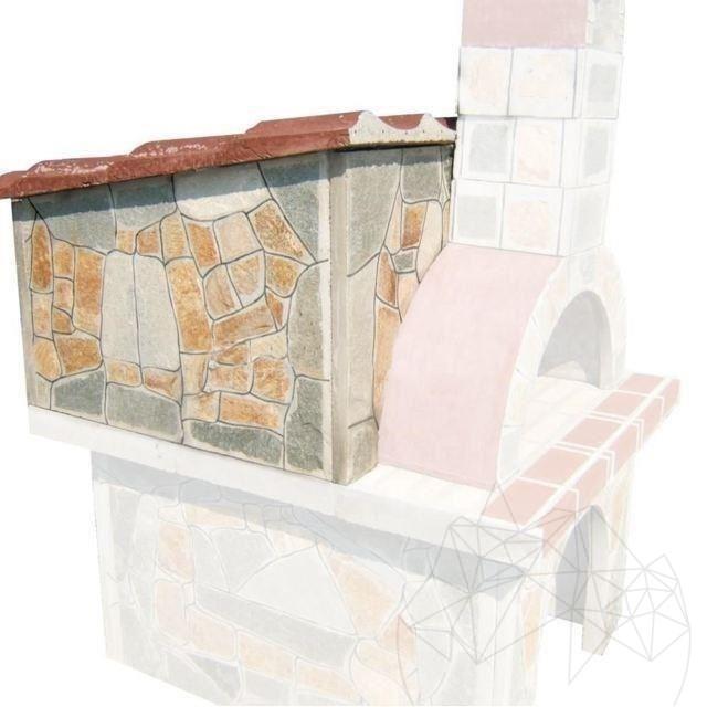 Accesorii: Acoperis pentru cuptor gradina (120 x 86 x 65 cm)