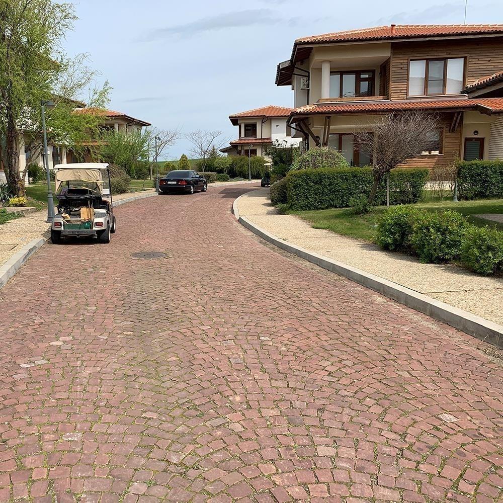 Piatra Cubica Sandstone Rosu Vidin Natur 10 x 10 x 10cm