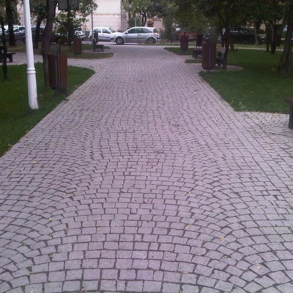 Piatra Cubica Sandstone Rosu Vidin Natur 10 x 10 x 5cm
