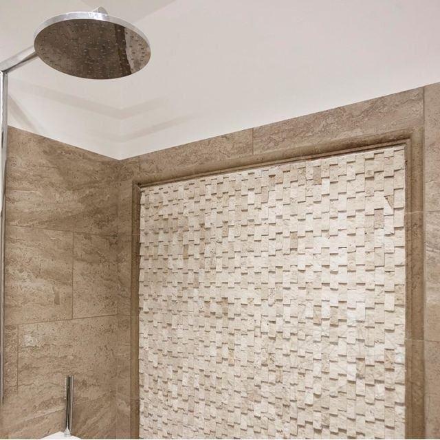 Mozaic Travertin Classic Scapitat Siding 2.3 X 4.8 Cm