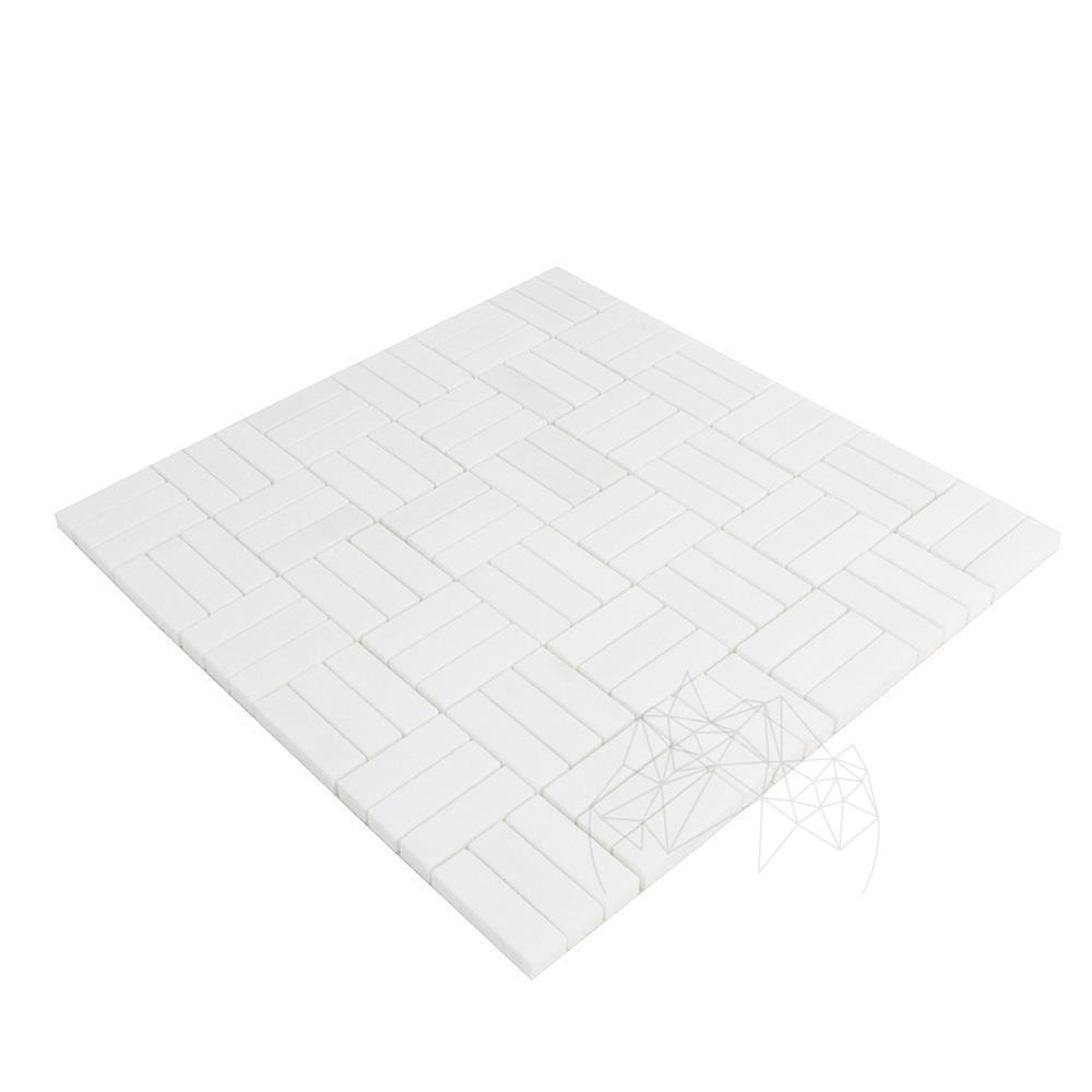 Mozaic Marmura Thassos Polisata Tetris