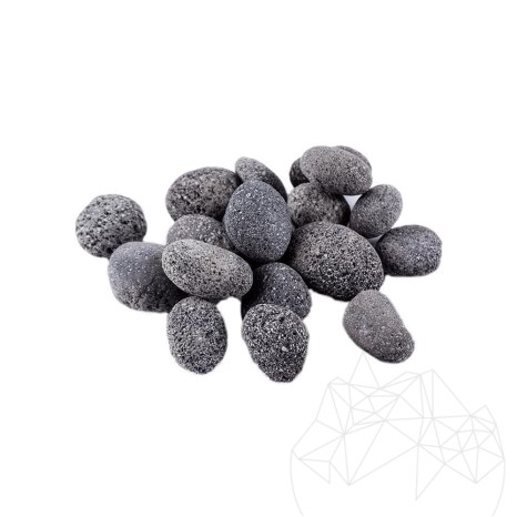 Pebble Lava Black Sac 20 KG