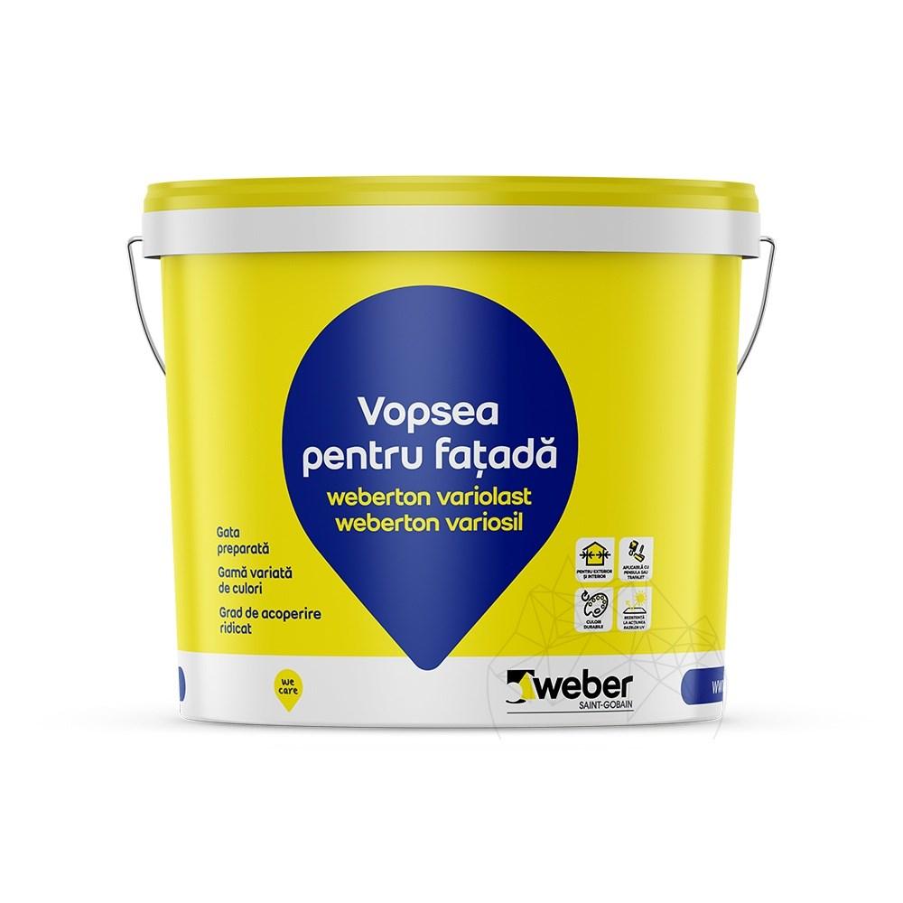 Vopsea Silicatica Pentru Exterior - Weber.ton Vari