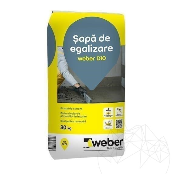 Sapa De Egalizare - Weber D10 -30kg