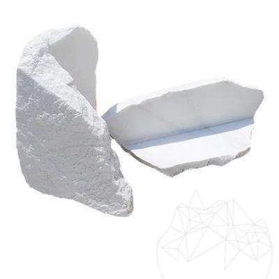 Marmura Poligonala Rock Face Thassos (coltar)