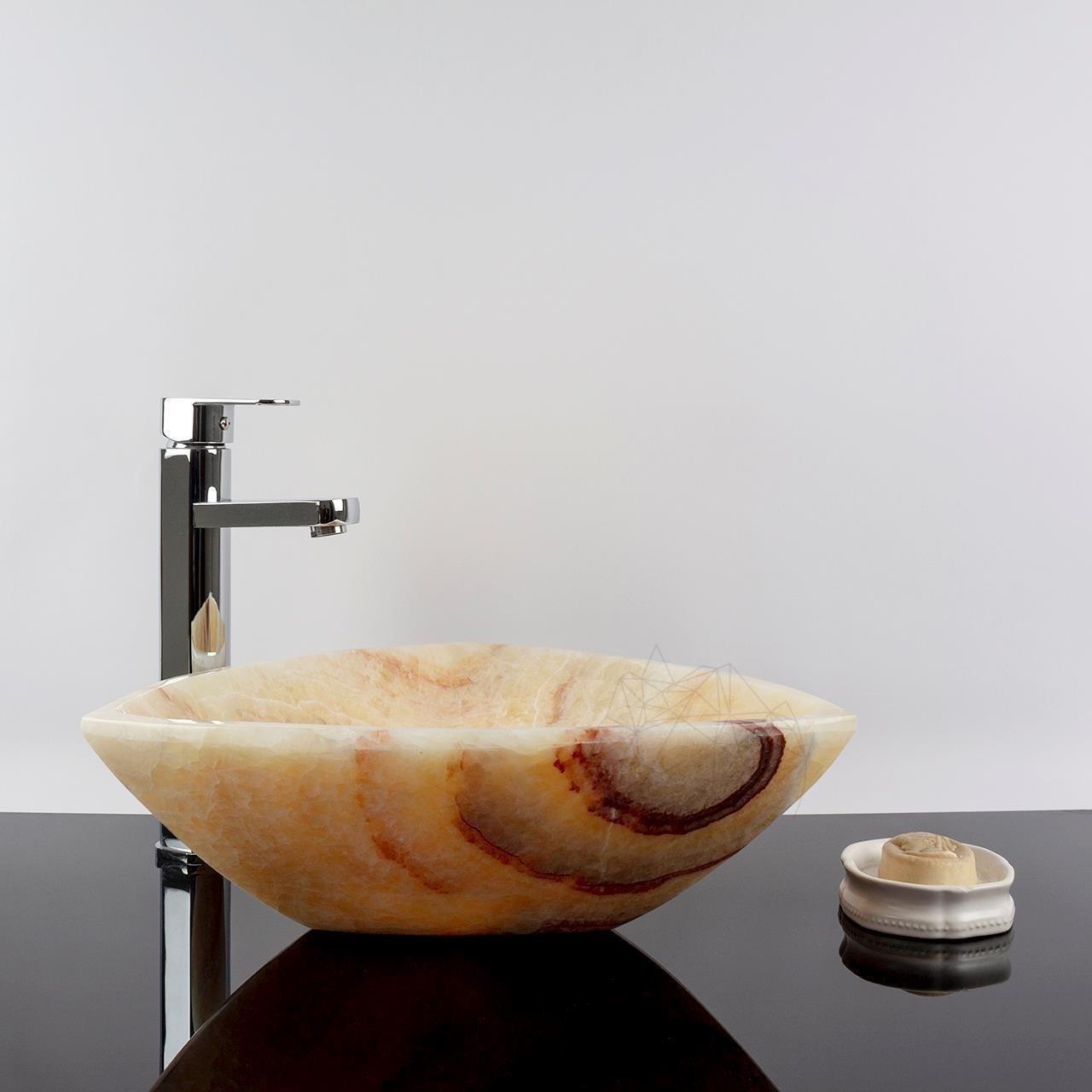 Chiuveta baie Onix Miele SP-3 42 x 42 x 14 cm